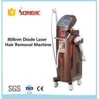 Wholesale Songic Vertical Style 808nm Home Laser Hair Removal Machines White from china suppliers