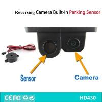 Wholesale 2 IN 1 Waterproof Reversing Backup Camera Parking Radar, Camera Parking Sensor from china suppliers