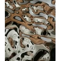 Wholesale Decorative Stainless Steel Embossed Pattern Sheet Interior Surface Finish Products from china suppliers