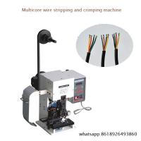 Wholesale High-speed Mute Wire Stripping And Terminal Crimpping Machines from china suppliers