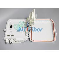 Buy cheap 1*8 PLC Fiber Splitter Box  Wall Mounted Outdoor Distribution Box from wholesalers