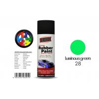 Wholesale Luminous Green Color Rubber Coat Spray Paint Mixture MSDS Certification APK-8201-27 from china suppliers
