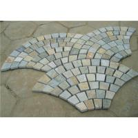 Buy cheap Meshed slate paver from wholesalers