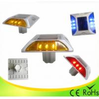 Wholesale IP68 Aluminum Shell Solar Led Road Stud With 1000M Visual Distance , Solar Cats Eyes from china suppliers