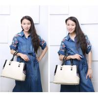 Quality Handmade bags women embroidered shoulder bags high grade PU ladies bag large capacity OEM/ODM for sale