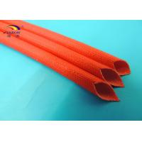 Wholesale Wire Insulating Silicone Rubber Coated Fiberglass Sleeving with UL RoHS Approval from china suppliers
