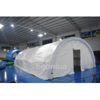 Wholesale Durable White Outdoor Airtight Tent Inflatable Event Tent 0.9mm PVC Tarpaulin from china suppliers