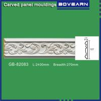 Quality Polyurethane chair rail moulding white primed color customized OEM accepted for sale