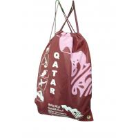 Buy cheap 400D full color printing strap string drawing nylon storage bags from wholesalers