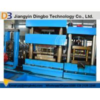 Wholesale 45kw Main Motor Power GuardRail Roll Forming Machine with Electric Control Cabinet from china suppliers