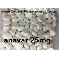 Wholesale Anavar 25mg Weight Loss Steroids White Pill Oxandrolone Bodybuilding Cutting Cycle from china suppliers