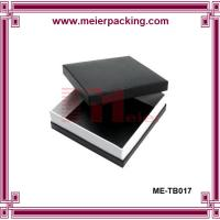 Wholesale Art paper black box, square printing gift paper box ME-TB017 from china suppliers