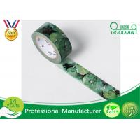Quality DIY Decorative Sticky Washi Masking Tape For DIY Craft Scrapbooking for sale