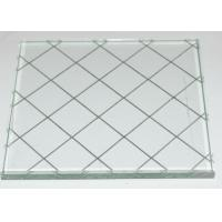 Wholesale Translucent figured Wire Reinforced Glass for window , door , partition from china suppliers