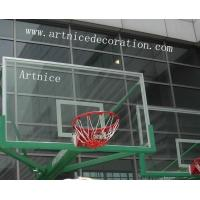 Wholesale Tempered glass for basketball board, toughened glass for basketball board, basketball tempered glass board from china suppliers