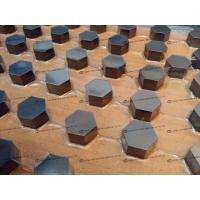 Wholesale Silicon Carbide Ballistic Tiles / SIC Ballistic Aircraft Armor Ceramic High Hardness from china suppliers