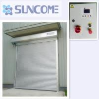 Wholesale S150 Control System Exterior Automatic Roller Door Durable Aluminum Door from china suppliers