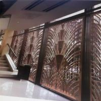 Wholesale CNC laser cutting panel screen metal decoration material for luxury architectural and interior projects from china suppliers