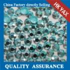 Wholesale hot fix aluminium rhine stud hotfix aluminium rhine stud YX1131-GREEN color from china suppliers