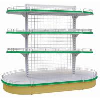 Wholesale Custom Made Anti-Corrosion High Tensile  Steel Storage Shelving, Back Mesh Shelf from china suppliers