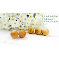 Wholesale Natural insect repellent aroma wooden ball / alternative moth balls / camphor balls (5pcs) from china suppliers