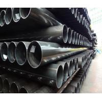 Wholesale Round Square Rectangular Steel Tubing For Scaffolding , Black Painting from china suppliers