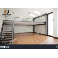 Wholesale 2-Layer Max 6000mm Industrial Mezzanine Floors Upright Industrial Shelving from china suppliers