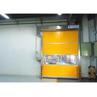 Wholesale Electric Interior Industrial High Speed PVC Rolling Door Automatic Fast Roll Up Door from china suppliers