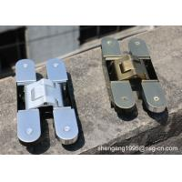Wholesale 180 Degree Adjustable Invisible German Hinges Zamak Concealed Door Hinges from china suppliers