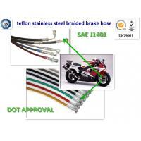 Wholesale dot approved OE stainless steel wire braided brake line from china suppliers