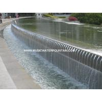 Wholesale Landscape Outdoor Fountains And Waterfalls Commercial Water Fountains With LED Strip from china suppliers