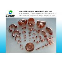 Wholesale Welding Air Conditioning Copper pipe fittings / copper tee for water piping project from china suppliers