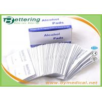Wholesale Antiphlogosis 70% Isopropyl Alcohol Swab Alcohol Prep Pads Wipe Cleanser for First Aid Cleaning and disinfecting from china suppliers