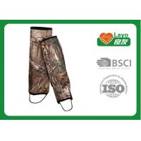 Wholesale Camouflage Waterproof Leg Gaiters For Hiking Walking Climbing from china suppliers