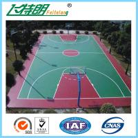 Wholesale Silicon PU Sports Flooring Polyurethane Floor Paint Outdoor Basketball Court Paint from china suppliers