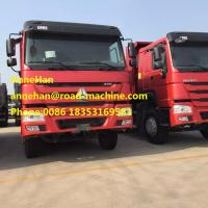 OEM HOWO Dump Truck  6 x 4 load 30 - 60T EuroII III 18m3 12.00R22.5