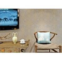 Wholesale PVC Wall Coverings Victorian Damask Wallpaper with Tear - resistant , ISO certification from china suppliers