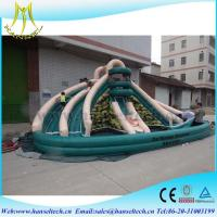 Wholesale Hansel hot selling children amusement park inflatable bounce house inflatable bouncy castle from china suppliers