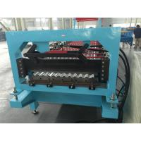 Wholesale Aluminium Corrugated Profile Roofing Sheet Roll Forming Machine Auto PLC Frequency Control from china suppliers