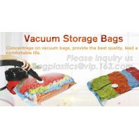 Wholesale Hot sale nylon PE laminated plastic vacuum storage bag for clothes, super-large vacuum storage compression jumbo bag from china suppliers