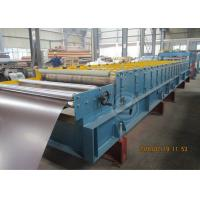 Wholesale 235Mpa Feeding Coil 1219mm Width Metal Tile Roll Forming Machine With Stacking Use Panasonic PLC from china suppliers