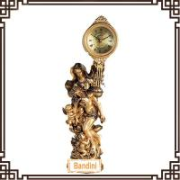 Wholesale Classical luxury european-style desktop clock decorative handmade clock 223BBK from china suppliers