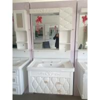 Buy cheap matrix for embossing Hung PVC Bathroom Cabinet / Single Bowl Bathroom Vanities from wholesalers