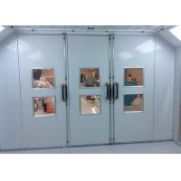Wholesale Tempered Glass Workshop Garage Paint Booth Systems With EPS Panel Roof from china suppliers