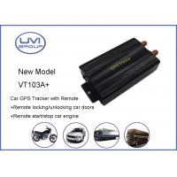 Wholesale VT103A+ Quad Band Car GPS Trackers For Vehicle Fleet With Geo - Fence , Supports SMS / GPRS from china suppliers