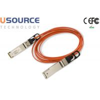 Wholesale 56G Quadwire AOC 4x14G Infiniband FDR QSFP 56G Breakout Active Optical Cable from china suppliers