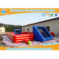 Buy cheap Large Inflatable Outdoor Soccer Field / Inflatable Football Court from wholesalers