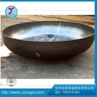ASME B16.9 black painting OD 2700*6 carbon steel Q235B cap dish