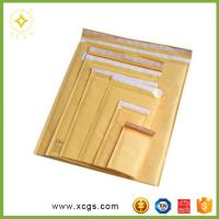Buy cheap Gold Jiffy Bags ,Customized Yellow Jiffy Bag Envelopes, Gold Kraft Bubble Mailer from wholesalers
