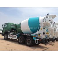 Buy cheap HOWO Mixer Trucks- 371HP - 9m3, Concrete Mixer Trucks, Mixer Trucks-8m3, Mixer Body, 10m3 Mixer Trucks from wholesalers